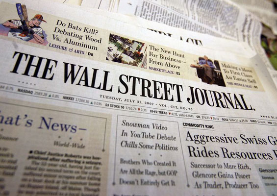 PMP Certification in the WSJ